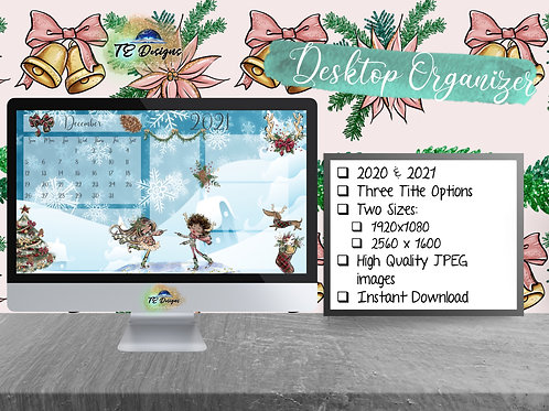 Its Christmaaas Desktop Organiser