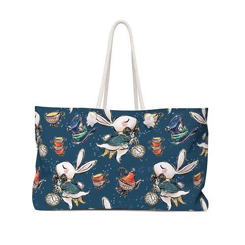 Late Rabbit Bag, Alice in Wonderland Teacher Bag