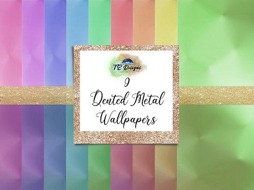 Dented Metal Wallpapers