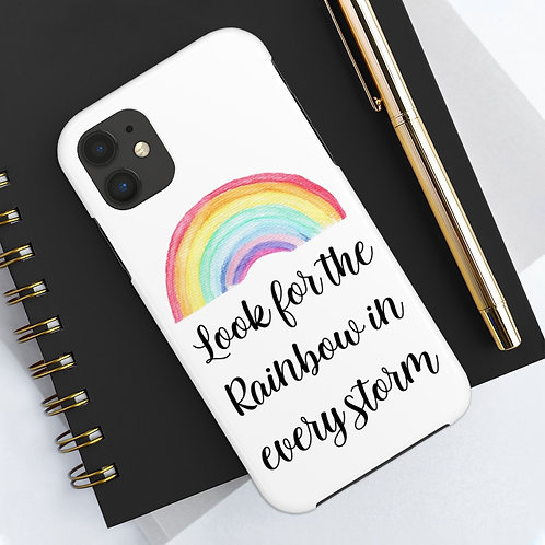 Rainbow in the Storm Tough Phone Case