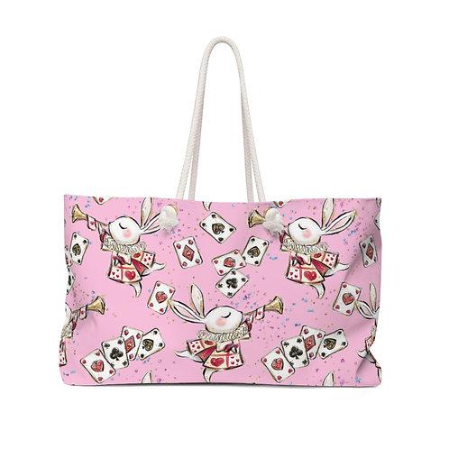 Rabbit Pink Bag, Alice in Wonderland Teacher Bag