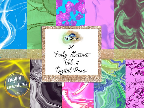 Liquify Backgrounds Digital Papers
