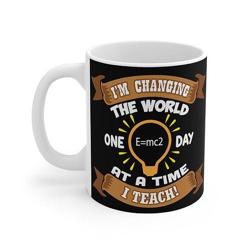 Changing the World Teacher Mug