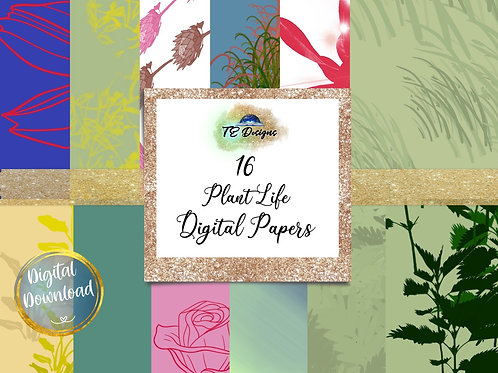 Plant Life Digital Papers