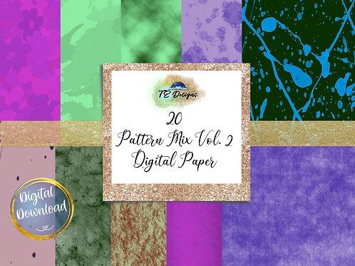 Pattern Mix Vol 2 digital papers