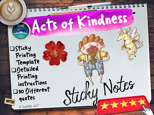 30  Acts of Kindness Quotes for Sticky Notes