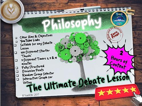 Debate Lesson /Philosophy P4C