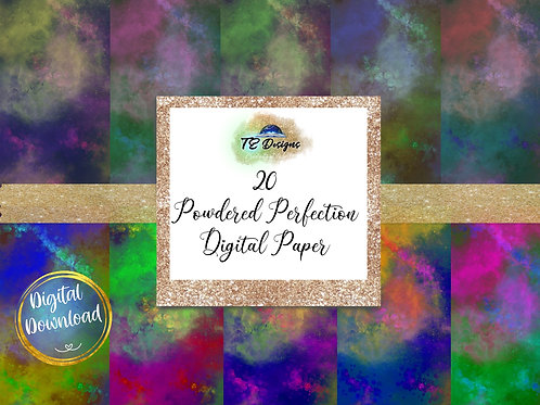 Powdered Perfection Digital Papers