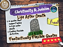 Christianity & Judaism Death Quotes