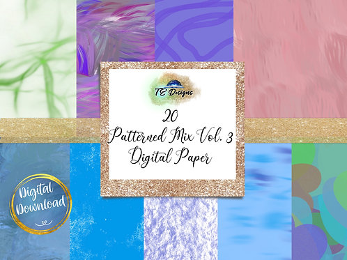 Pattern Mix Vol 3 digital papers
