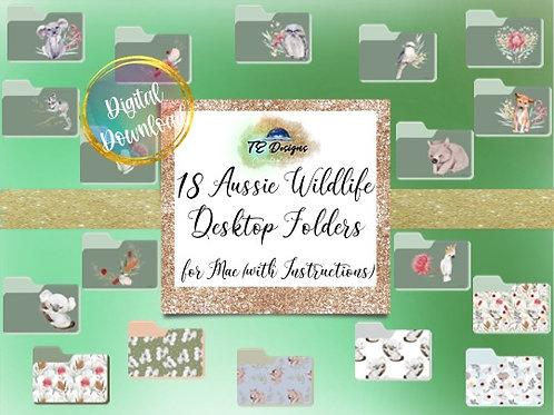 Australian Wildlife Desktop Folders for Mac