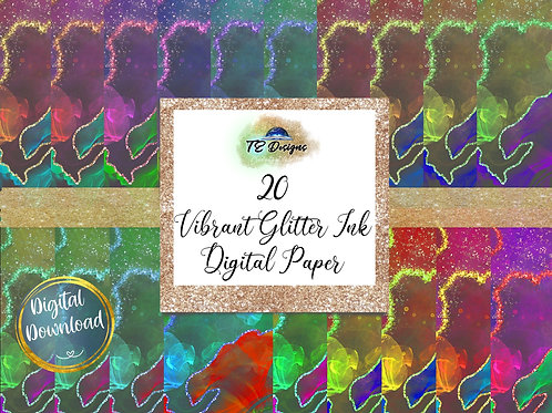 Vibrant Ink digital papers