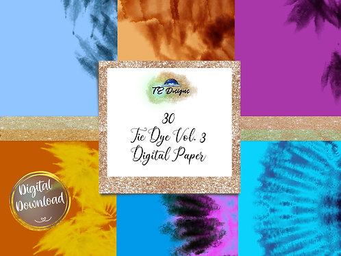 Tie Dye Vol. 3 Digital Papers