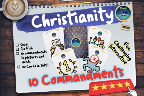 10 Commandments Playing Cards
