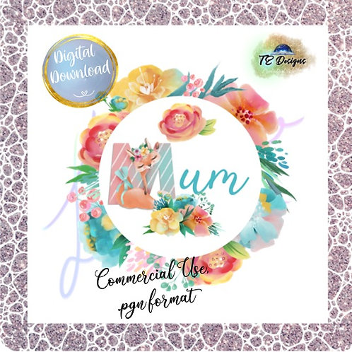 Mum pgn clipart for commercial use