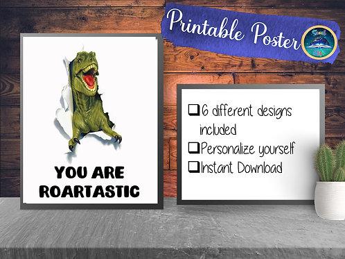 Dino Print | Roarsome Printable
