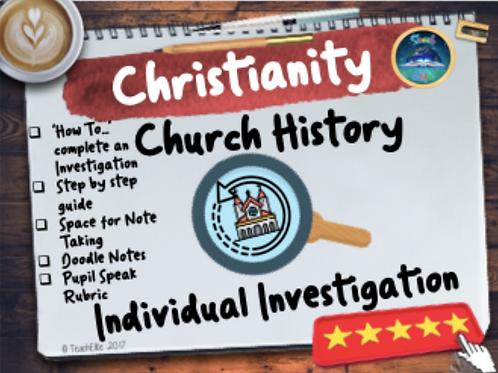 Church History Investigation