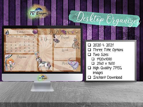 Circus Desktop Organiser