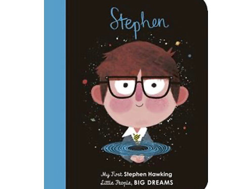 Little People Big Dreams: Stephen my first board book