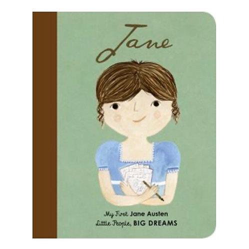 Little People Big Dreams: Jane Austin my first board book