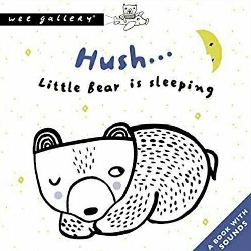Wee Gallery Sound Book - Hush Little Bear is Sleeping