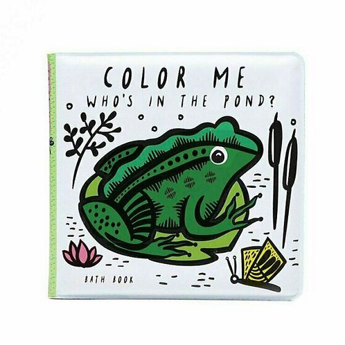 Wee Gallery Colour Me bath book - pond