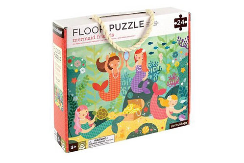 Mermaid 24 Piece Floor Puzzle