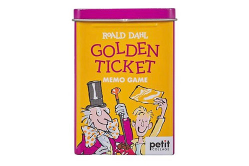 The Golden Ticket Memory Game