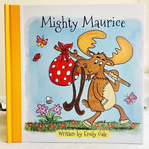 Might Maurice hardback book