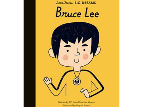 Little People Big Dreams Hardback book - Bruce Lee