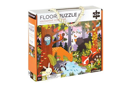 Enchanted Forest 24 piece floor puzzle