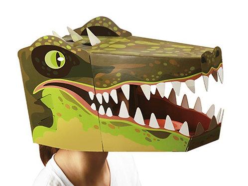 Crocodile head mask