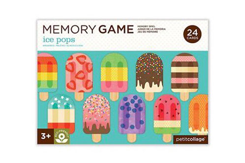 Ice Pop Memory Game