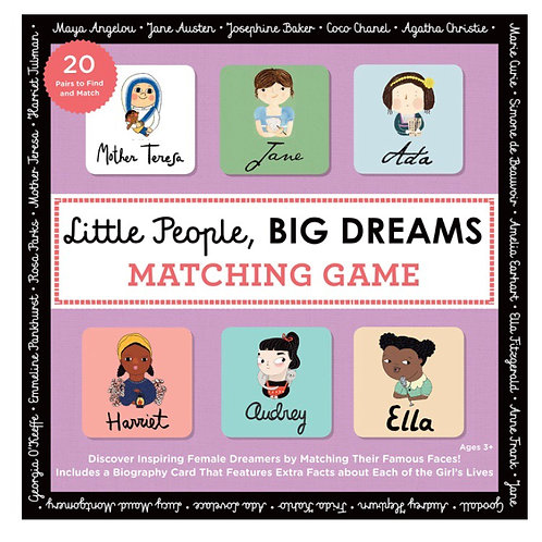 Little People Big Dreams matching pairs