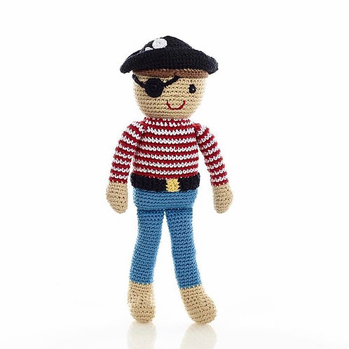 Knitted pirate