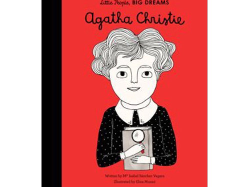 Little People Big Dreams Hardback book - Agatha Christie