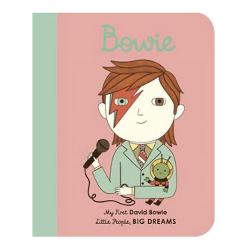 Little People Big Dreams: David Bowie my first board book
