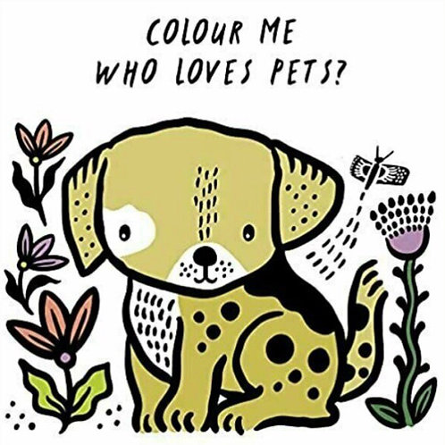 Wee Gallery Colour Me Bath Book - Pets