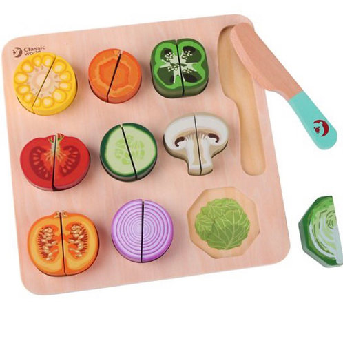 Classic World cutting puzzle Veg