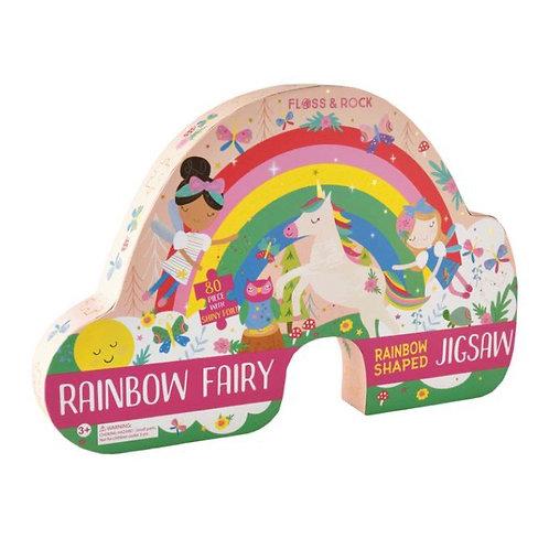 80 piece Rainbow Fairy jigsaw