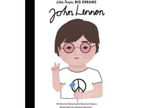 Little People Big Dreams Hardback book - John Lennon