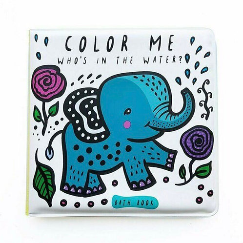 Wee Gallery Colour Me bath book - water