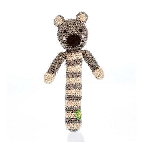 Pebble Knitted Koala rattle