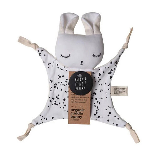 Wee Gallery Organic Cuddle Bunny Comforter - spot