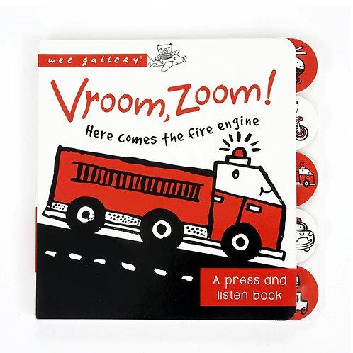 Wee Gallery Vroom, Zoom sound book