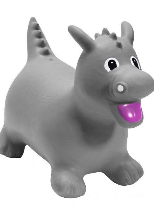 Grey dino happy hopperz