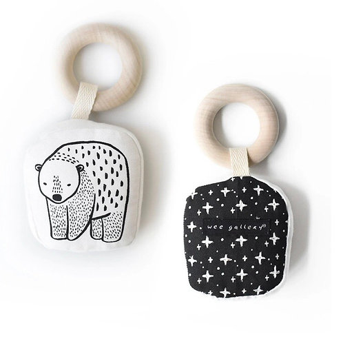 Wee Gallery Organic Teether - bear