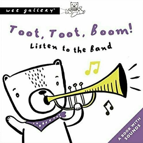 Wee Gallery Sound Book - Toot Toot Boom