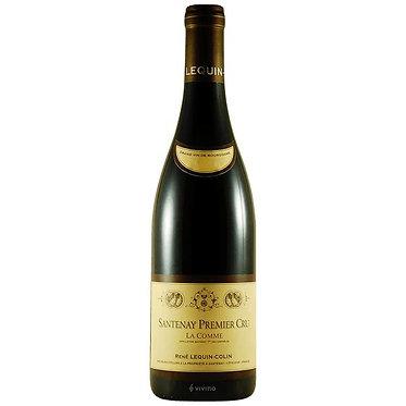 Lequin Colin  Santenay 1er Cru La Comme 2018 柯林酒莊 瑪莎內一級園 黑皮諾紅酒