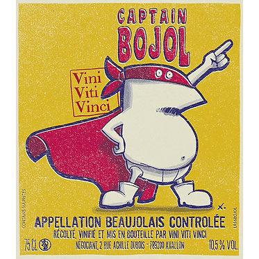 Vini Viti Vinci  Beaujolais Villages Captain Bojot  2020 維妮酒莊 薄酒萊隊長